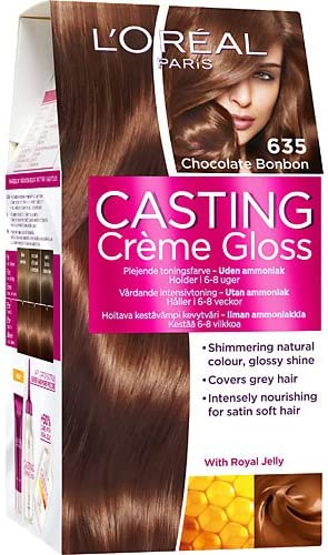 LOréal Paris Casting Creme - Color de cabello brillante sin ...