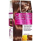 L'Oréal Paris Casting Creme - Color de cabello brillante sin amoníaco (635 Chocolate Bonbo)
