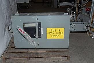 Square D I Line II AL Busway AF2516GBBCM PAF2036 1600 Amp Bus Switch 3P 4W