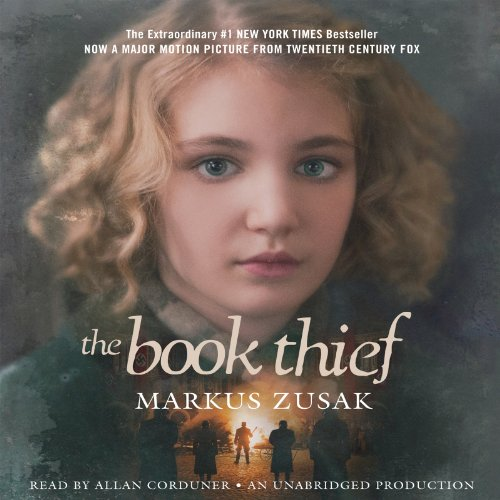 The Book Thief                   By:                                                                                                                                 Markus Zusak                               Narrated by:                                                                                                                                 Allan Corduner                      Length: 13 hrs and 56 mins     22,371 ratings     Overall 4.6