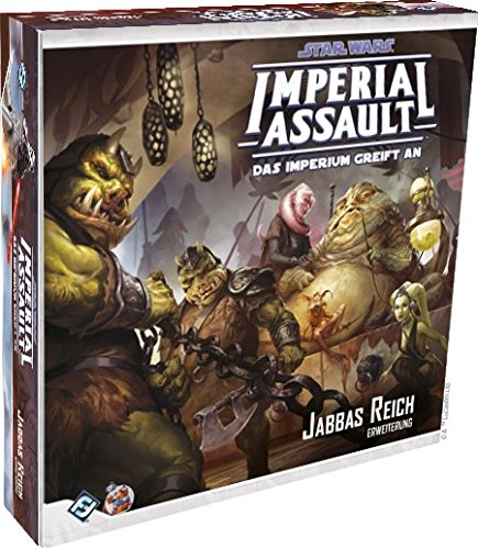 Fantasy Flight Games FFGD4537 Star Wars: Imperial Assault-Jabbas Reich