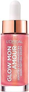 L'Oréal Paris Glow Mon Amour Liquido Illuminante Viso in Goccia, Incarnato Luminoso e Naturale, Infuso con Olio di Cocco, ...