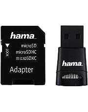 Hama microSD/microSDHC/microSDXC Adapter Set (USB 2.0), zwart