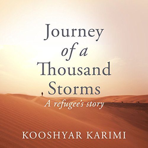 Journey of a Thousand Storms audiobook cover art