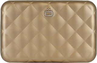 Ogon Quilted Zipper Aluminium Wallet for Women | Rfid Safe - 24 cards
