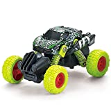 MANIINI Pull Back Cars Toys, Pull Back Vehicles Monster Trucks for Kids Off-Road Die-cast, Tiny Inertia Car Toy for Boys Girls Toddler Gifts Camouflage Series - Green