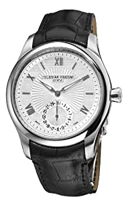 Frederique Constant Men's FC-700MS5M6 Maxime Manufacture Automatic Silver Roman Numerals Dial Watch Reviews and Online and review