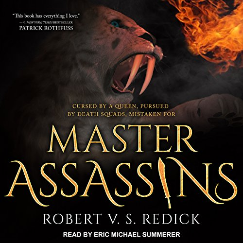 Master Assassins audiobook cover art