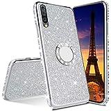 COTDINFOR Samsung Galaxy M30S Case Glitter Diamond Shining