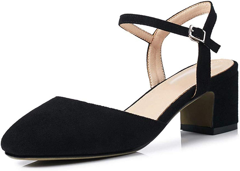 Women's Sandals Platform shoes Non-Slip Wedge Sandals Summer Beach shoes Lazy shoes (color   B, Size   36)