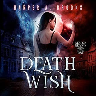 Death Wish     Reaper Reborn, Book One              By:                                                                                                                                 Harper A. Brooks                               Narrated by:                                                                                                                                 Eugenie Danglar                      Length: 9 hrs and 38 mins     Not rated yet     Overall 0.0