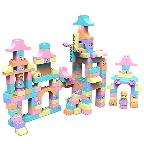 YZWJ 430 comprimés DIY épeler insérer des Blocs de Construction Jouets coloré en Plastique Puzzle Construire des Jouets créatifs empiler des Blocs de Construction Jouets pour Enfants