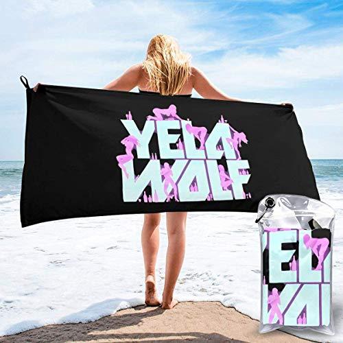 MasakoJMassie Yelawolf Playboy - Toallas de ducha unisex de microfibra de secado rápido