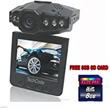 Hd Night Vision CCTV In Car Dvr Accident Video Proof Camera Video Recorder with 8GB SD Card