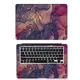 YMXDXTY DIY Colorido mármol Pegatina Portátil Pegatina Piel13 / 14/15 Inch para Mac-Book Air 11 Air 13.3 2020 P-RO 13 / H-P/D-E-L-L-L-L-EN-OVO (Application Laptop Size : 14', Color : AX 022)