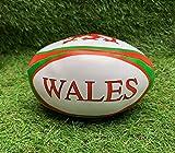 Ballons de rugby doux de force et d'honneur Wales WU Safe Ball Pratique