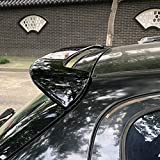 ABS Voiture Becquets arrière pour Peugeot 206 207, Rear Tronc Toit Queue Coffre Accessoires De Style De Modification De Voiture