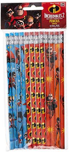 Disney©/Pixar'Incredibles 2' Pencils, Party Favor
