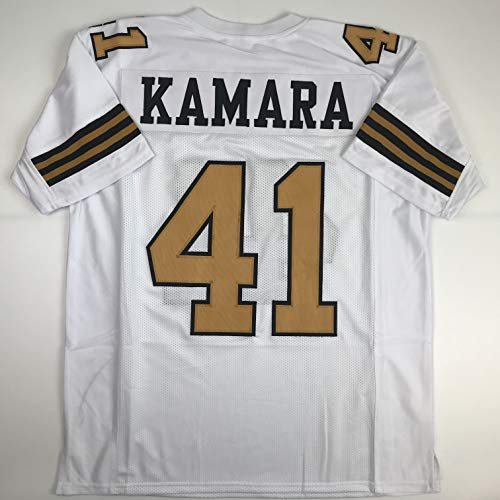 Unsigned Alvin Kamara New Orleans Color Rush Custom Stitched Football Jersey Size Men's XL New No Brands/Logos