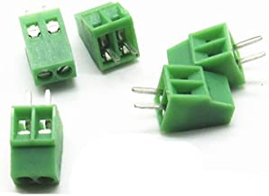DBParts 10 Sets 8-Pin 8 Pole Pitch 3.81mm Straight Plug-in Screw Terminal Block Pluggable Connector Panel PCB Mount DIY