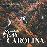 """North Carolina 2022 Calendar: From January 2022 to December 2022 - Square Mini Calendar 8.5x8.5"""" - Small Gorgeous Non-Glossy Paper"""