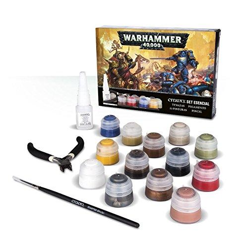 Warhammer 40k Citadel Set Esencial