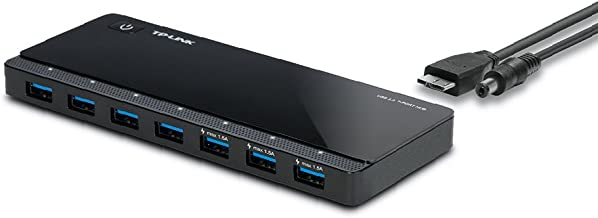 Amazon Com 2nd Gen Tp Link 7 Port Usb 3 0 Ultra Slim Hub Including 3 Bc 1 2 Charging Ports Up To 5v 1 5a Compatible With Windows Mac Chrome Linux Os With Power On Off