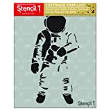 Stencil1 Astronaut Stencil 8.5' x 11'