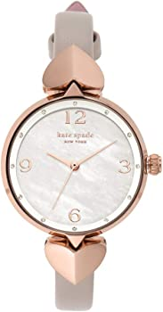 Kate Spade New York Women's Hollis Stainless Steel Dress Quartz Watch