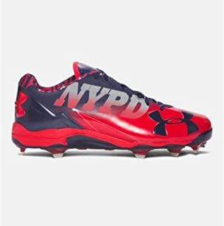 Under Armour New Deception Low DT LE Baseball Cleats Red/Midnight Sz 16 M