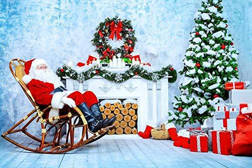 1000 kappaleen puinen palapeliPuzzelstukjes Volwassenen Houten puzzel DIY Kerstman Liggend op een schommelstoel Houten puzzel Wanddecoratie Home Art Festival Gift