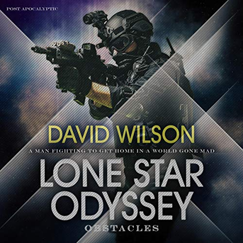 Lone Star Odyssey audiobook cover art