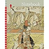 Notebook: The Actors Segawa Kikunojo III as Koito, Sawamura Sojuro III as the monk Sainenbo, and Ichikawa Monnosuke II as the monk Renseibo, in the shosa Mata Saku Hana Museume Dojoji, performed at the Nakamura Theater in the fourth month, 1783, 1783