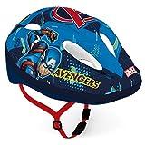 Disney Casco de Bicicleta para niño, diseño de Los Vengadores, Color Azul, tamaño: 52-56 cm