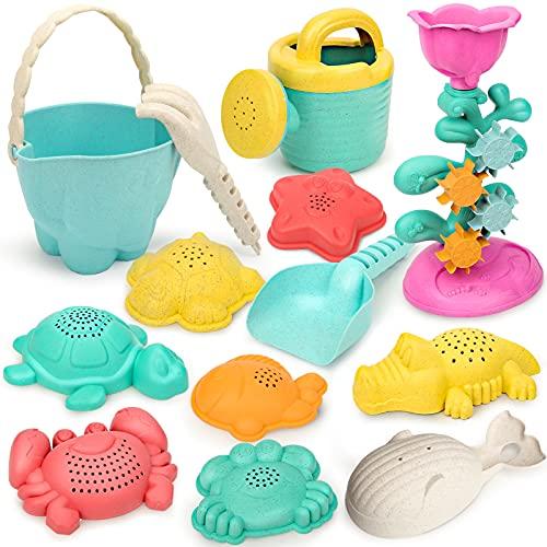 YIMORE Sandspielzeug Kinder Badespielzeug Sandformen Sandkasten Sandeimer Wasserspielzeug Tierform Outdoor Spielzeug Jungen Mädchen 3 4 5 6