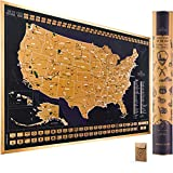 Scratch Off Map of The United States National...