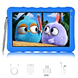 Tablet para Niños con WiFi Bluetooth Google GMS Android 9.0 Go Quad Core 9 Pulgadas DUODUOGO G22 3GB RAM 32GB ROM/64GB Escalables Doble Cámara 6000mAh Tablet Infantil Educativo (9'', Azul)