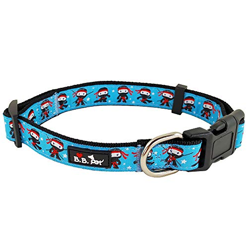 Bestbuddy BBP032 Hundehalsband, modisch, modisch, bequem, verstellbar, mit Schnalle, 11