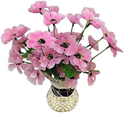 Creaon 21 Small Cherry Blossoms Fake Flowers Fake Flowers Silk Bouquets Artificial Simulation Flower Artificial Flowers