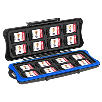 Switch Game Card Case - Younik 32 Slots Game Card Storage Box Include 16pcs Game Card Slots and 16pcs Micro SD Card Holders for NS Switch