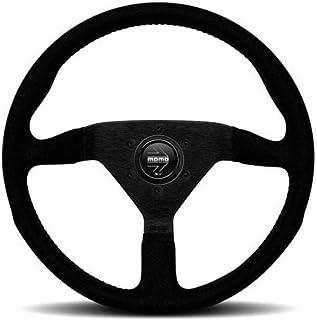 Momo MCL32AL1B Steering Wheel (Monte Carlo 320 Leather Black), 1 Pack