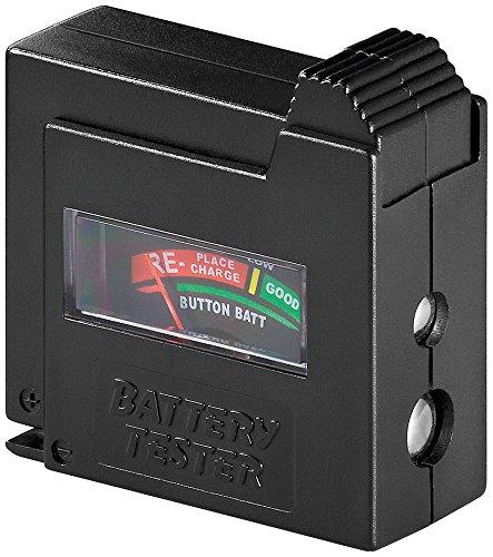 3er Set Wentronic Batterietester mit Display für Batteriezustand