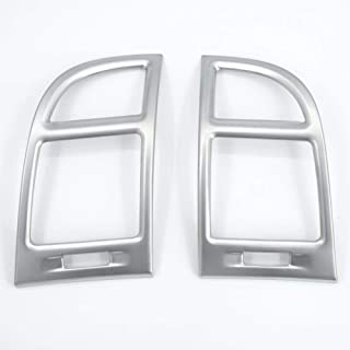 Door Bowl Insert Trim Cup Molding Garnish Catch Bezel 2in1 Chrome Door Handle Cover cm Fit for 2007-2012 Hyundai Santa Fe