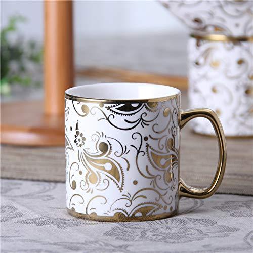 GGsmd Europees-Style Keramische Koffiebeker Melk Cup Engels Middag Theekop Drinkbeker Thee Thuis Mok Mokken