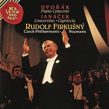 Dvorak: Piano Concerto in G Minor, Op. 33 - Janacek: Concertino & Capriccio for Piano