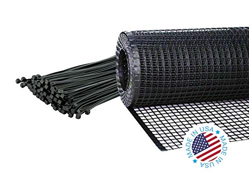"Kidkusion Heavy Duty Deck Guard, Black - 16' L x 34"" H 