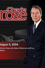 Charlie Rose - discussion on The Fog of War with Errol Morris & Robert McNamara (August 9, 2004)