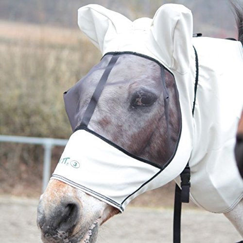 Boett mouches masque Sweet Itch Hood-Chestnut taille 140-170