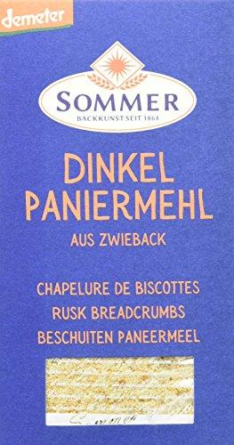 Sommer Dinkel Paniermehl aus Zwieback vegan, demeter, 6er Pack (6 x 300 g)