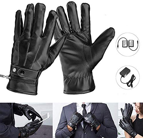 Winter beheizte Handschuhe Thermische Elektrische Heizung Handschuhe mit Lithium-Ionen-Akku, Skifahren Motorrad Hände Wärmer Arthritische Handschuhe für Männer und Frauen